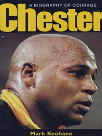 Chester-Williams-autographs-signed-South-Africa-Rugby-memorabilia-biography-of-courage-Mark-Keohane-sprngboks-1985-world-cup-2002-union
