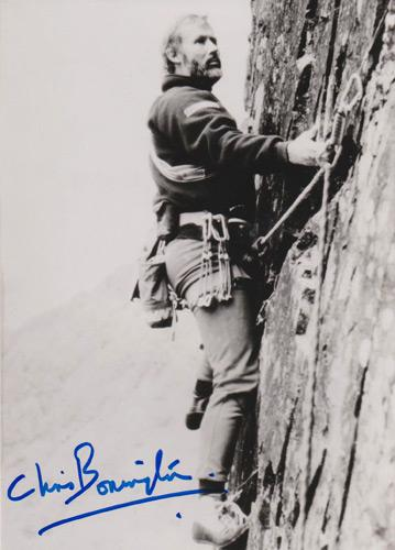 Chris-Bonnington-autograph-signed-mountaineering-memorabilia-mount-everest-matterhorn-K2-climber-mountain-climbing-adventure-sport-sir