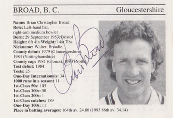 Chris-Broad-autograph-signed-gloucestershire-cricket-memorabilia-signature-england-batsman-1995-gloucs-notts-ccc-county-cricketers-whos-who-ashes