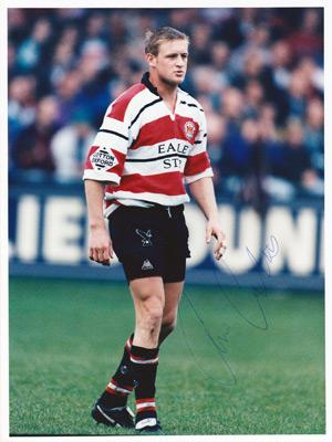 Chris-Catling-autograph-signed-Gloucester-Rugby-memorabilia-gloucs-full-back-cherry-whites-deltatre-signature