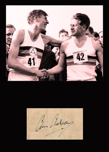 Chris-Chataway-signed-Athletics-memorabilia-four-minute-mile-sir-autograph-roger-bannister-montage