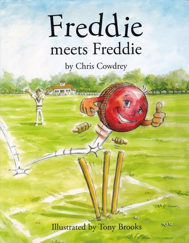 Chris-Cowdrey-autograph-signed-Kent-cricket-memorabilia-KCCC-Freddie-meets-Freddie-childrens-book-Andrew-Flintoff-Chance-to-Shine-Fabian-Julius