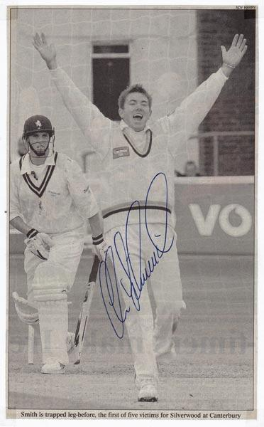 Chris-Silverwood-autograph-signed-yorkshire-cricket-memorabilia-england-head-coach-yorks-ccc-ed-smith-signature-chairman-of-selectors 2001