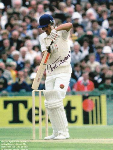 Chris-Tavare-autograph-Kent-cricket-signed-England-Test-cricket-pic-Tav-Uniquely-Sporting-memorabilia gray nicolls bat