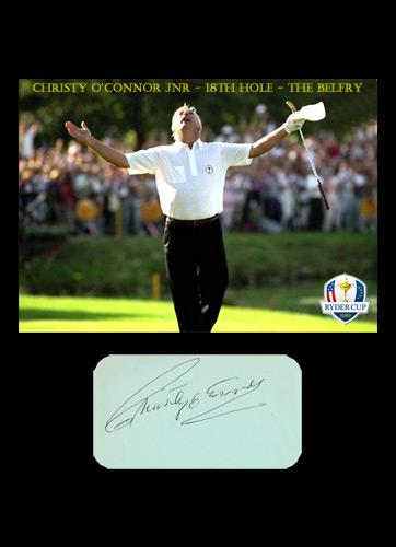 Christy-OConnor-autograph-christy-oconnor-memorabilia-jnr-junior-signed-samuel-ryder-cup-golf-memorabilia-18th-hole-the-belfry-1989-fred-couples-2-iron-europe-victory-usa