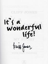 Cliff-Jones-autograph-signed-tottenham-hotspur-football-memorabilia-autobiography-its-a-wonderful-life-wales-double-thfc-spurs-signature-200