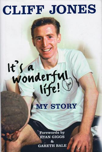 Cliff-Jones-autograph-signed-tottenham-hotspur-football-memorabilia-autobiography-its-a-wonderful-life-wales-double-thfc-spurs