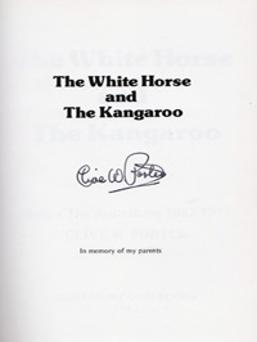 Clive-W-Porter-signed-Kent-cricket-book-The-White-Horse-and-the-Kangaroo-Australia-cricket-memorabilia-KCCC-1882-1977-signature-autograph-200
