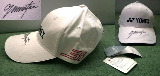 Colin Montgomerie signed Yonex golf cap Full Monty autograph Ryder Cup captain golfing memorabilia new tags