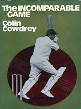 LORD COLIN COWDREY Kent & England signed copy of