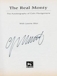 Colin-Montgomerie-autograph-signed-autobiography-golf-memorabilia-ryder-cup-captain-legend-real-monty-lewine-mair-book-2006-K-club-ireland-scotland-signature-first-edition-orion