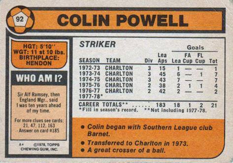 Colin-Powell-autograph-signed-Charlton-Athletic-FC-football-memorabilia-CAFC-Paddy-Addicks-winger-groundsman-cricket-The-Valley-player-card