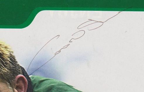 Conor oshea autograph signed london irish rugby memorabilia captain coach full back ireland italy signature
