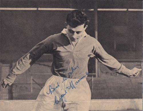 Cyril-Hammond-autograph-signed-Charlton-Athletic-FC-football-memorabilia-signature-photo-CAFC-Addicks-Colchester-1950s-Fairs-Cup-London-XI-erith-belvedere