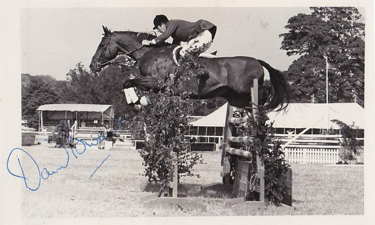 DAVID BROOME signed show jumping photo autographed equestrian sporting memorabilia