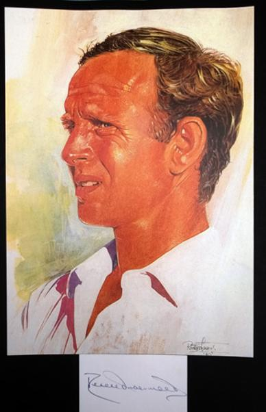 DEREK-UNDERWOOD-autograph-signed-Kent-cricket-memorabilia-deadly-england-poster-portrait