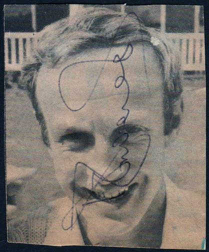 DEREK-UNDERWOOD-autograph-signed-Kent-cricket-memorabilia-deadly-england-test-cricket-portrait