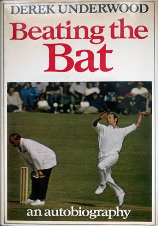 DEREK-UNDERWOOD-memorabilia-Kent-cricket-memorabilia-autobiography-book-Beating-the-Bat-Deadly