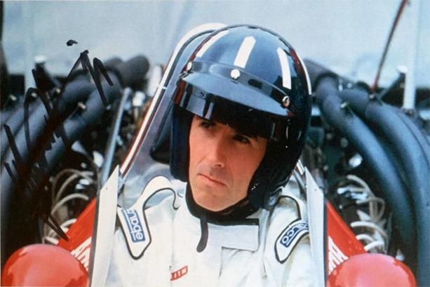Damon hill multi signed motor sport cap for Damon racing