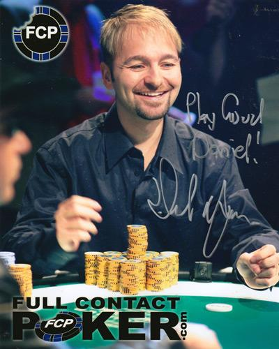 Daniel-Negreanu-memorabilia-autograph-signed-Full-Contact-Poker-memorabilia-FCP-Kid-Poker-WSOP-Word-Series-of-Poker-memorabilia-WPT-World-Poker-Tour-Texas-Hold-Em-Poker