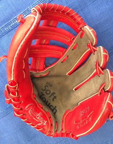 Darryl-Strawberry-memorabilia-MLB-Rawlings-RSG9-Baseball-Glove-red-New-York-Mets-NY-Yankees-World-Series-champion-soft-touch