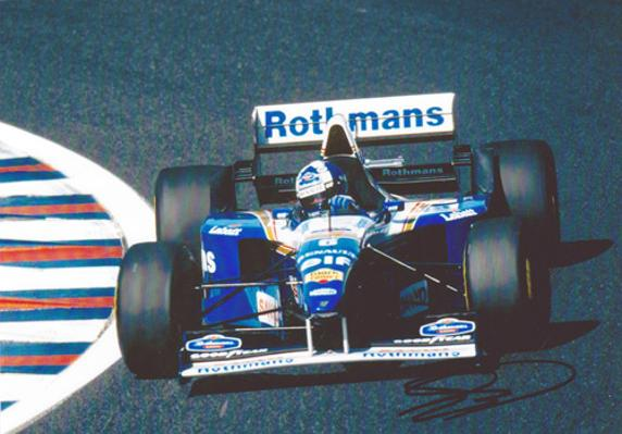 David-Coulthard-memorabilia-autograph-signed-formula-one-memorabilia-1995-Williams-F1-memorabilia-grand-prix-driver-scotland-motorsport-memorabilia-bbc-tv-commentator