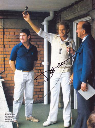 David-Gower-autograph-signed-Leics-CCC-England-cricket-memorabilia-signed-Ashes-win-Australia-captain-test-match