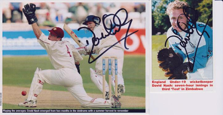 David-Nash-autograph-signed-Middlesex-cricket-memorabilia-Middx-CCC-county-wicketkeeper