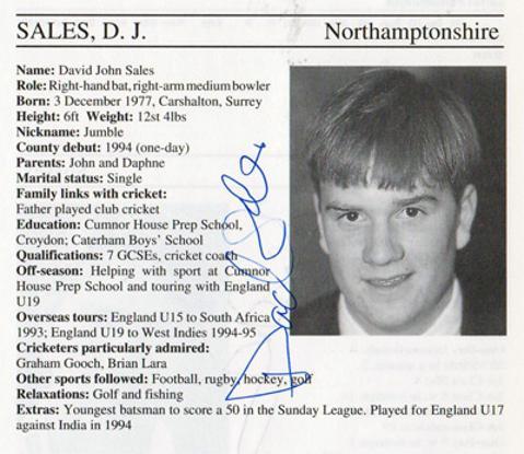 David-Sales-autograph-signed-northamptonshire-cricket-memorabilia-northants-ccc-England-batsman-signature