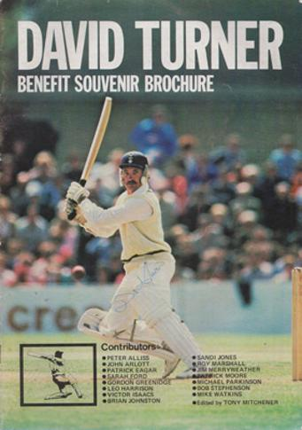 David-Turner-autograph-signed-hampshire-cricket-memorabilia-1981-benefit-ouvenir-brochure-hants-ccc-batsman-signature