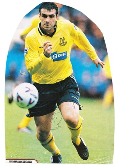 David-Unsworth-autograph-signed-Everton-fc-football-memorabilia-toffees-EFC-signature-England-defender-centre-half