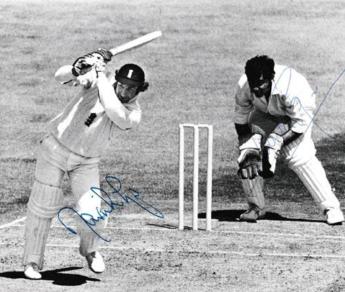 David-lloyd-autograph-signed-england-cricket-memorabilia-farokh-angineer-signature-india-1974-test-match-edgbaston-lancs-ccc
