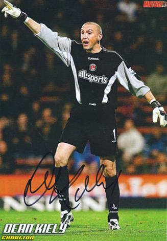 Dean-Kiely-autograph-signed-charlton-athletic-footbal-memorabilia-goalkeeper-goalie-republic-of-ireland-addicks-cafc-signature