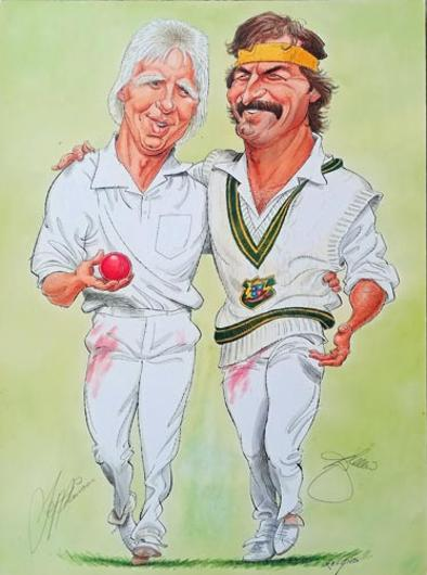 Dennis-Lillee-autograph-and-Jeff-Thomson-signed-john-ireland-australian-cricket-print-signature