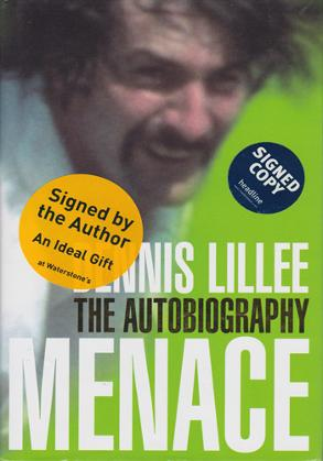 Dennis-Lillee-signed-autobiography-Menace-australian-cricket-memorabilia-autograph-book-cover-Waterstones-350