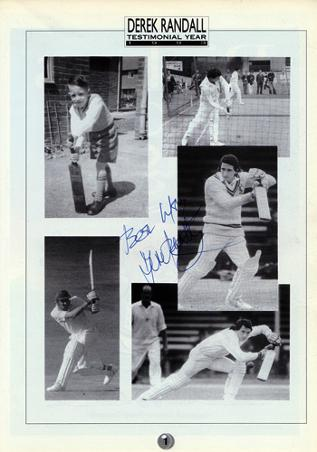 Derek-Randall-1993-Notinghamshire-cricket-signed-benefit-brochure-autograph