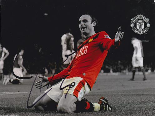Dimitar-Berbatov-autograph-signed-Man-Utd-FC-football-memorabilia-photo-Manchester-United-Bulgaria-signature