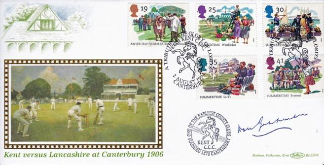 Don-Bradman-autograph-signed-australia-cricket-memorabilia-first-day-cover-fdc-kent-canterbury