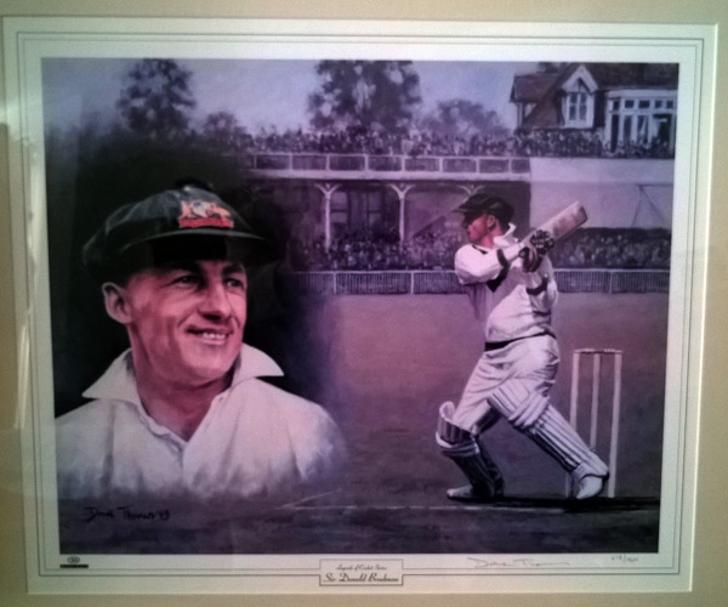 SIR DON BRADMAN Limited edition Dave Thomas