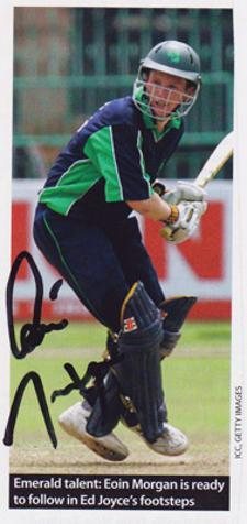 Eoin-Morgan-autograph-signed-England-cricket-memorabilia-Middx-CCC-Middlesex-County-ODI-captain-ireland-picture-signature
