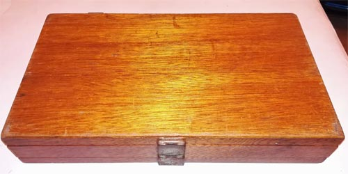 Fly-Fishing-box-two-tier-drawer-wooden-vintage-antique-handmade-flies-double-sided