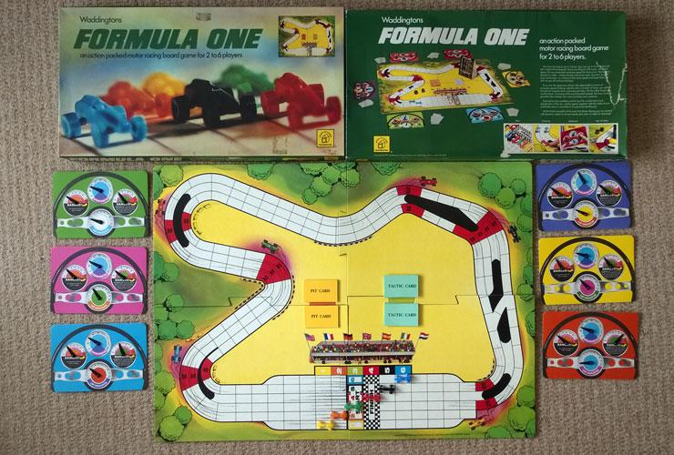Waddingtons Formula One Motor-Racing Grand Prix Board Game