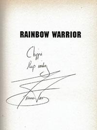 Francois-Pienaar-autograph-signed-south-africa-rugby-memorabilia-rainbow-warrior-autobiography-book