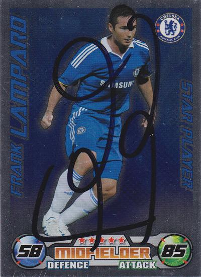 Frank-Lampard-autograph-Chelsea-FC-football-memorabilia-signed-Star-Player-Match-Attax-player-card-Man-City-England-New-York-soccer