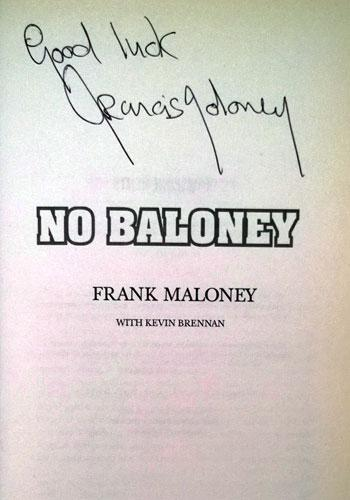Frank-Maloney-boxing-manager-Lennox-Lewis-signed-No-Baloney-autobiography-autograph