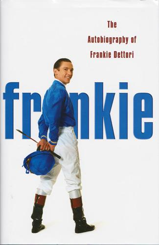 Frankie-Dettori-autograph-signed-autobiography-2004-book-flat-racing-jockey-champion-horse-rider-magnificent-seven-ascot