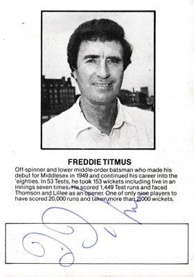 Fred-Titmus-autiograph-signed-England-cricket-memorabilia-middx-ccc
