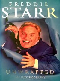 FREDDIE STARR signed autobiography