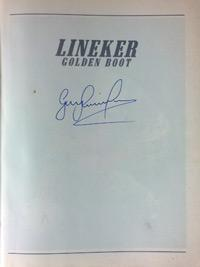 GARY-LINEKER-memorabilia-signed-Golden-Boot-book-football-memorabilia-autobiography-autograph