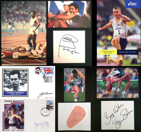 GBA-ATH-4-Daley-Thompson-autograph-signed-athletics-Steve-Backley-Lynn-Davies-Steve-Smith-Jonathan Edwards Graham-Budd-auctions-sports-memorabilia-sale-sothebys